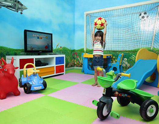kids playground in seminyak